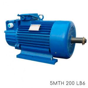 Крановый электродвигатель с фазным ротором 5МТН 200 LA8