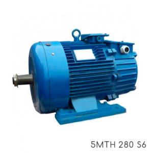 крановый электродвигатель с фазным ротором 5МТН 280 S6
