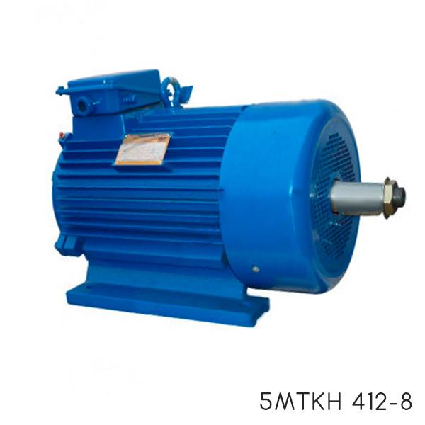 Крановый электродвигатель с короткозамкнутым ротором 5мткн 412-8