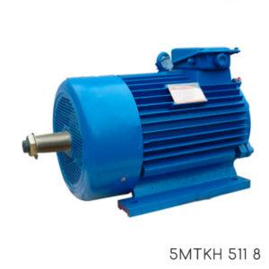 крановый электродвигатель с короткозамкнутым ротором 5МТКН 511-8
