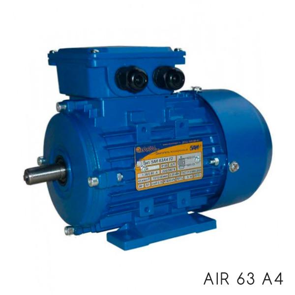 общепромышленный электродвигатель АИР 63 А4