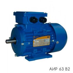 общепромышленный электродвигатель АИР 63 В2