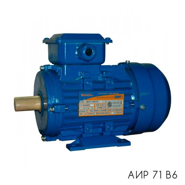общепромышленный электродвигатель АИР 71 В6